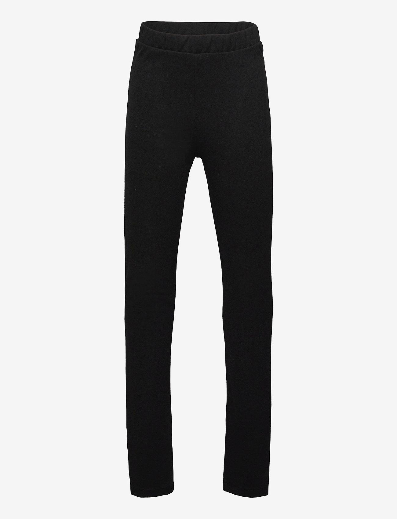 LMTD - NLFDONNA SLIT PANT - jogginghosen - black - 0
