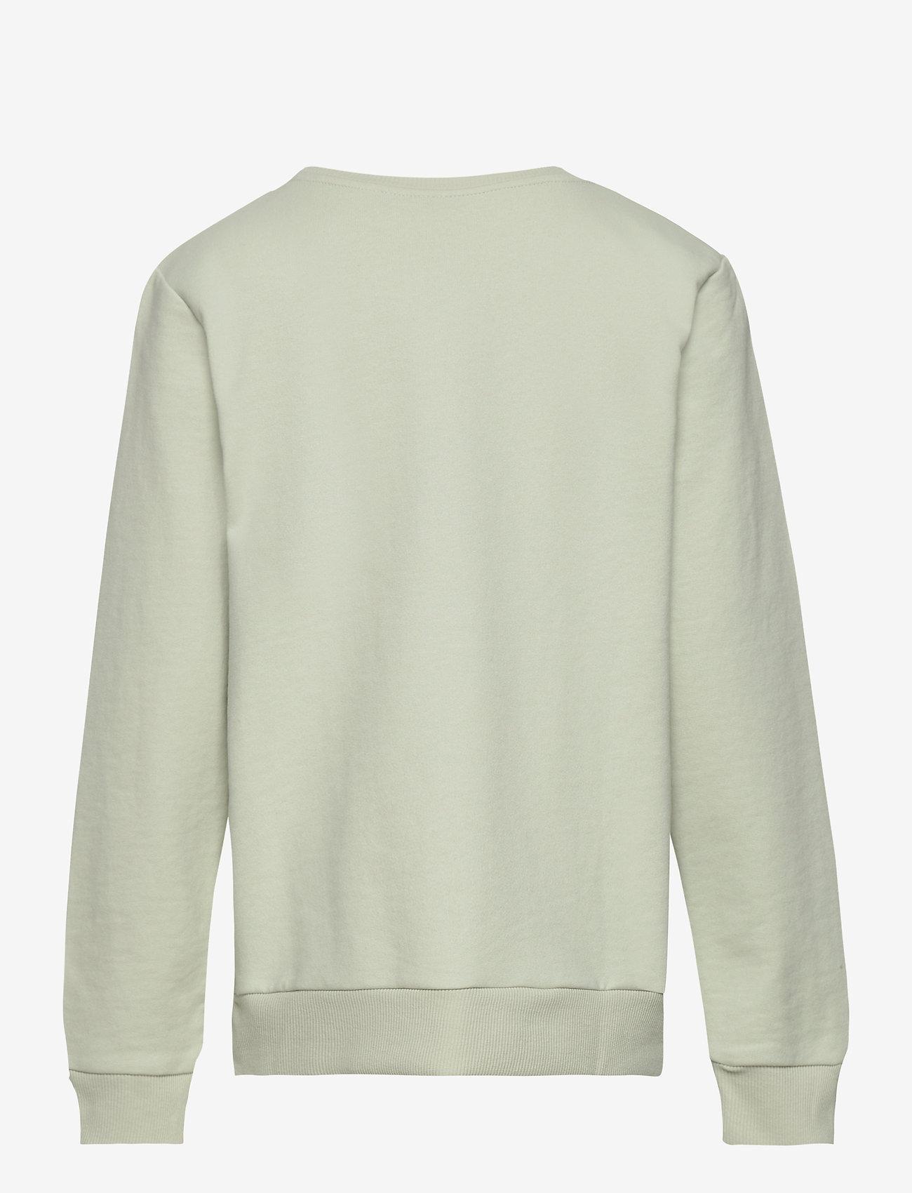 LMTD - NLMFISTAN LS SWEAT - sweatshirts - mercury - 1