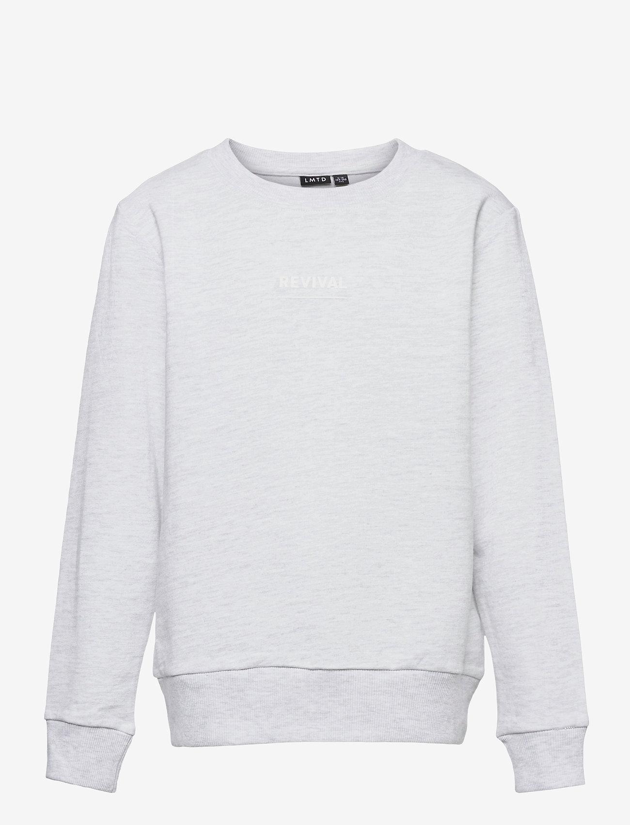 LMTD - NLMFISTAN LS SWEAT - sweatshirts - oatmeal - 0