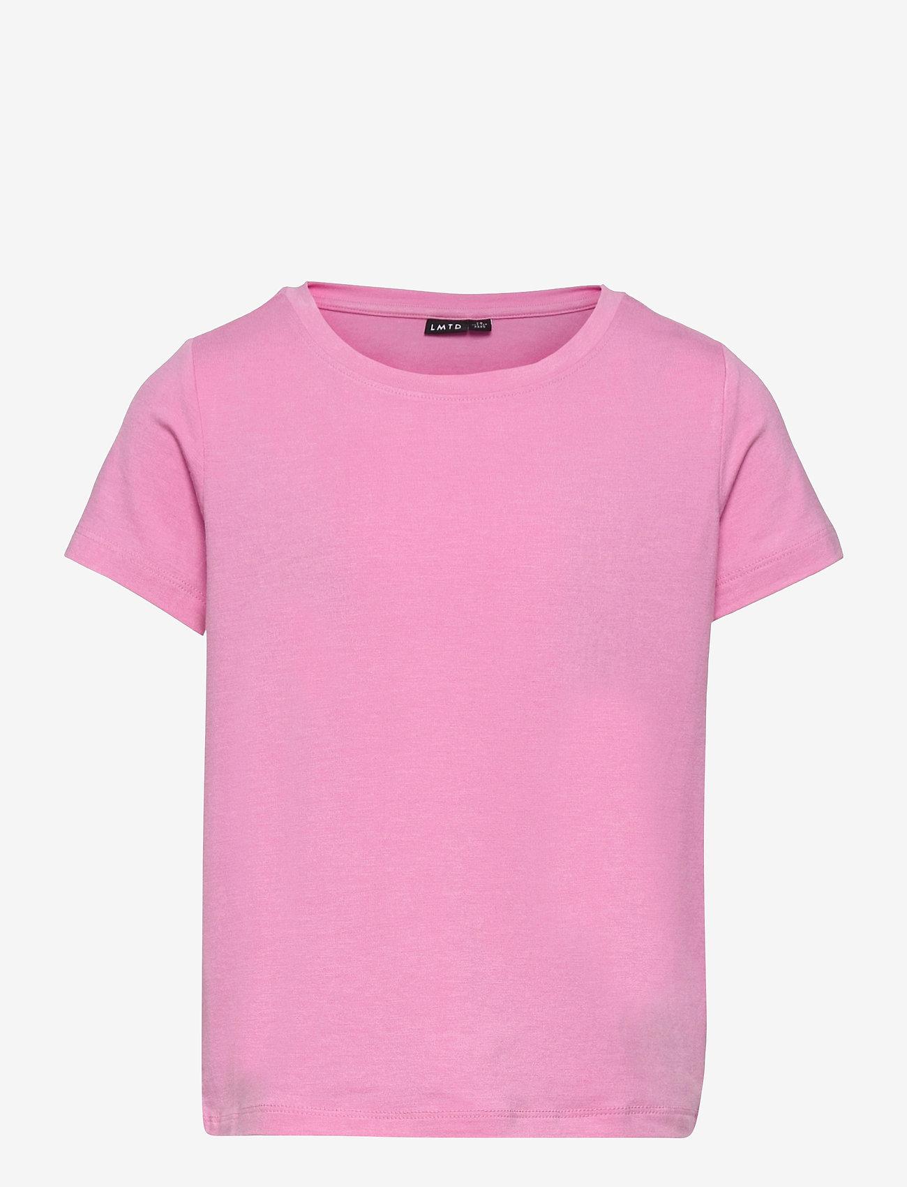 LMTD - NLFODAISY SS SHORT R TOP - t-shirts - lilac chiffon - 0