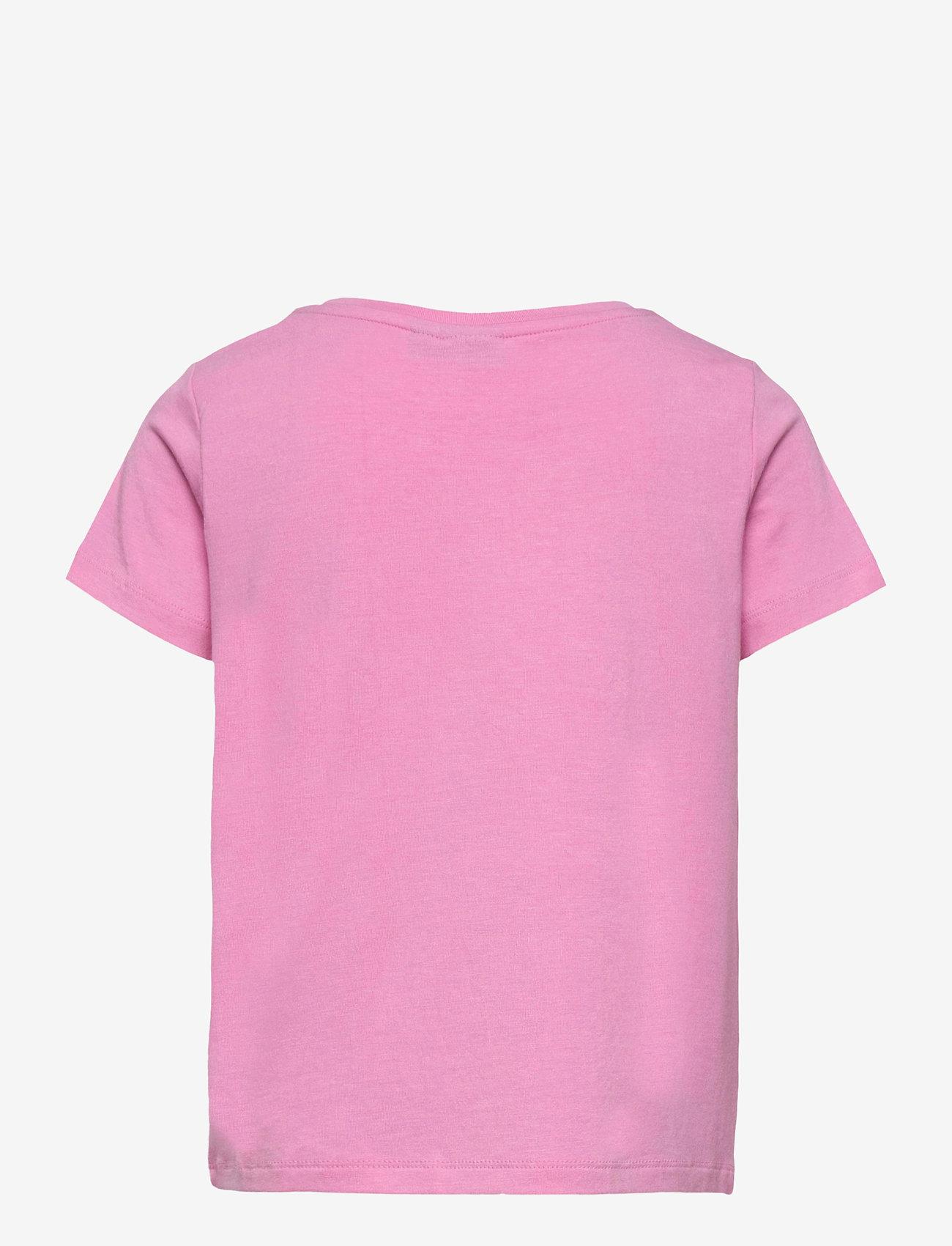 LMTD - NLFODAISY SS SHORT R TOP - t-shirts - lilac chiffon - 1
