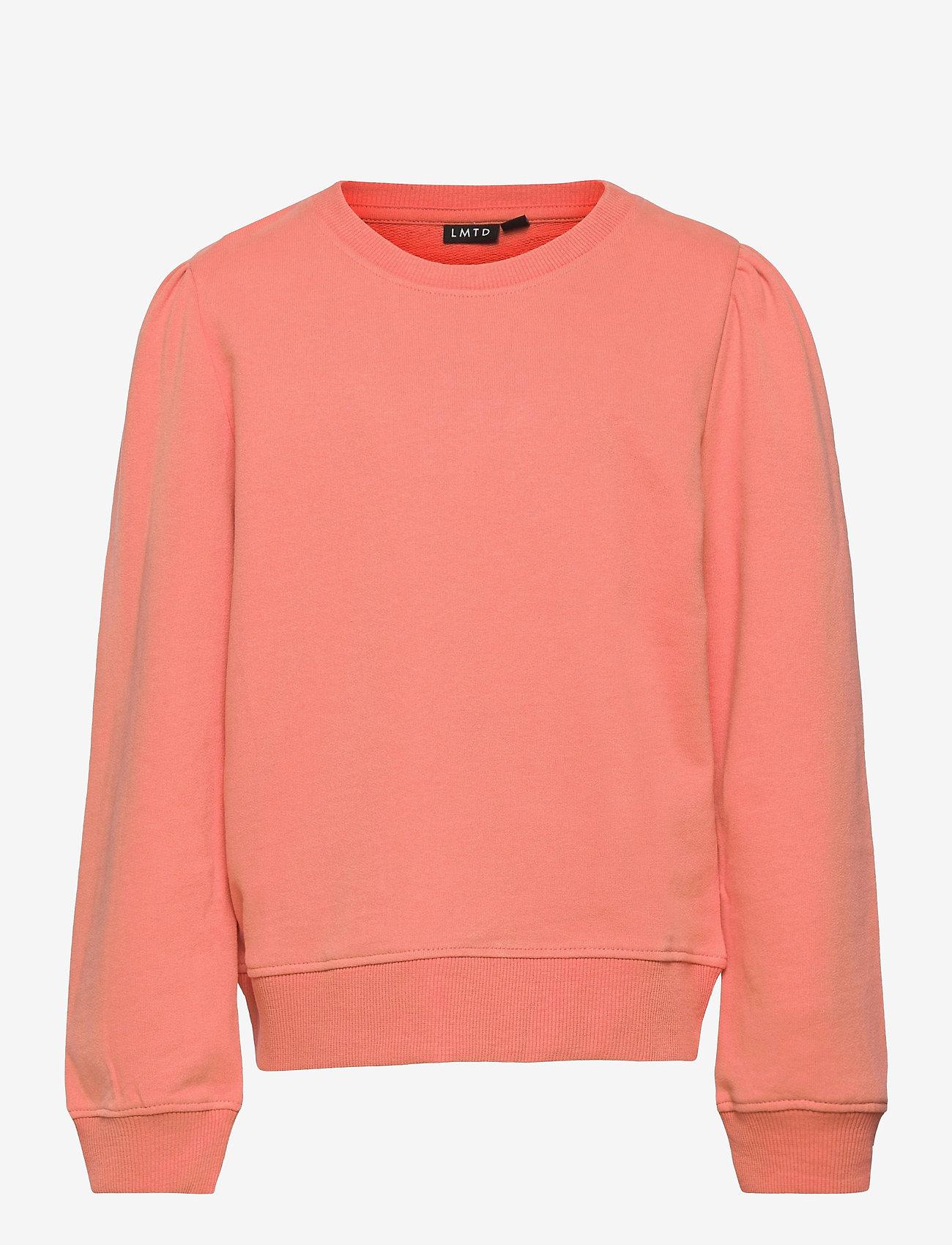 LMTD - NLFFATIAN LS SHORT SWEAT - sweatshirts - crabapple - 0