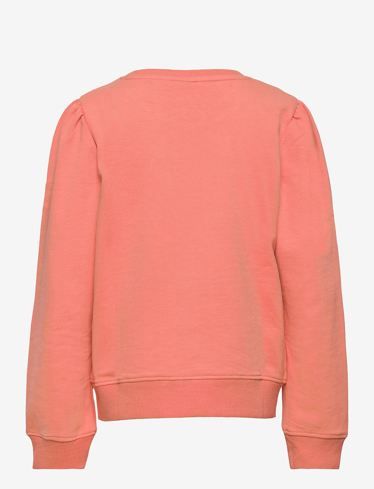 LMTD - NLFFATIAN LS SHORT SWEAT - sweatshirts - crabapple - 1