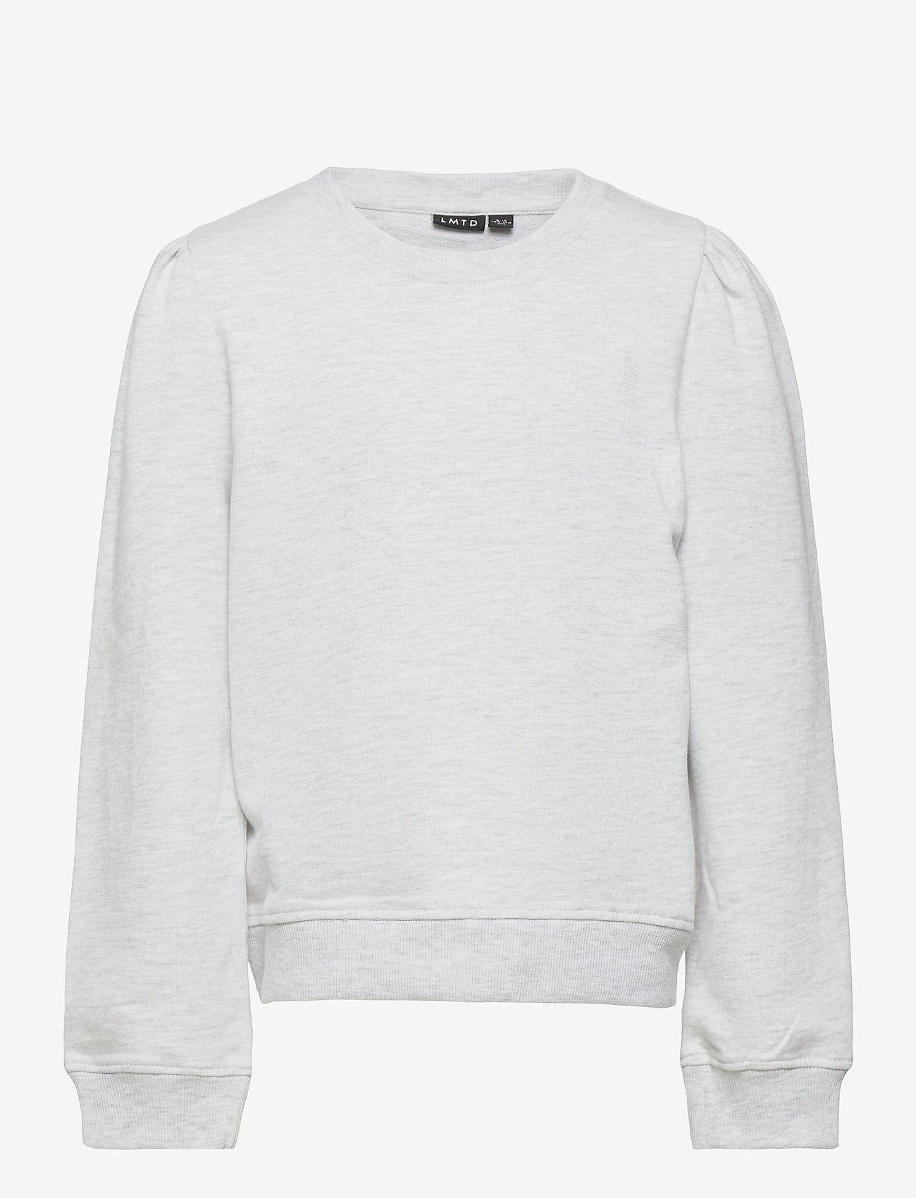 LMTD - NLFFATIAN LS SHORT SWEAT - sweatshirts - oatmeal - 0