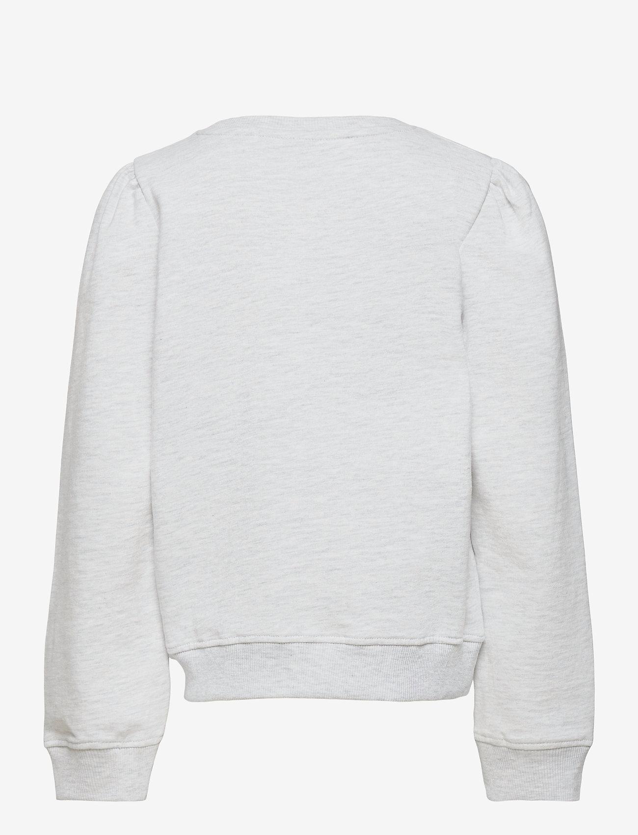 LMTD - NLFFATIAN LS SHORT SWEAT - sweatshirts - oatmeal - 1