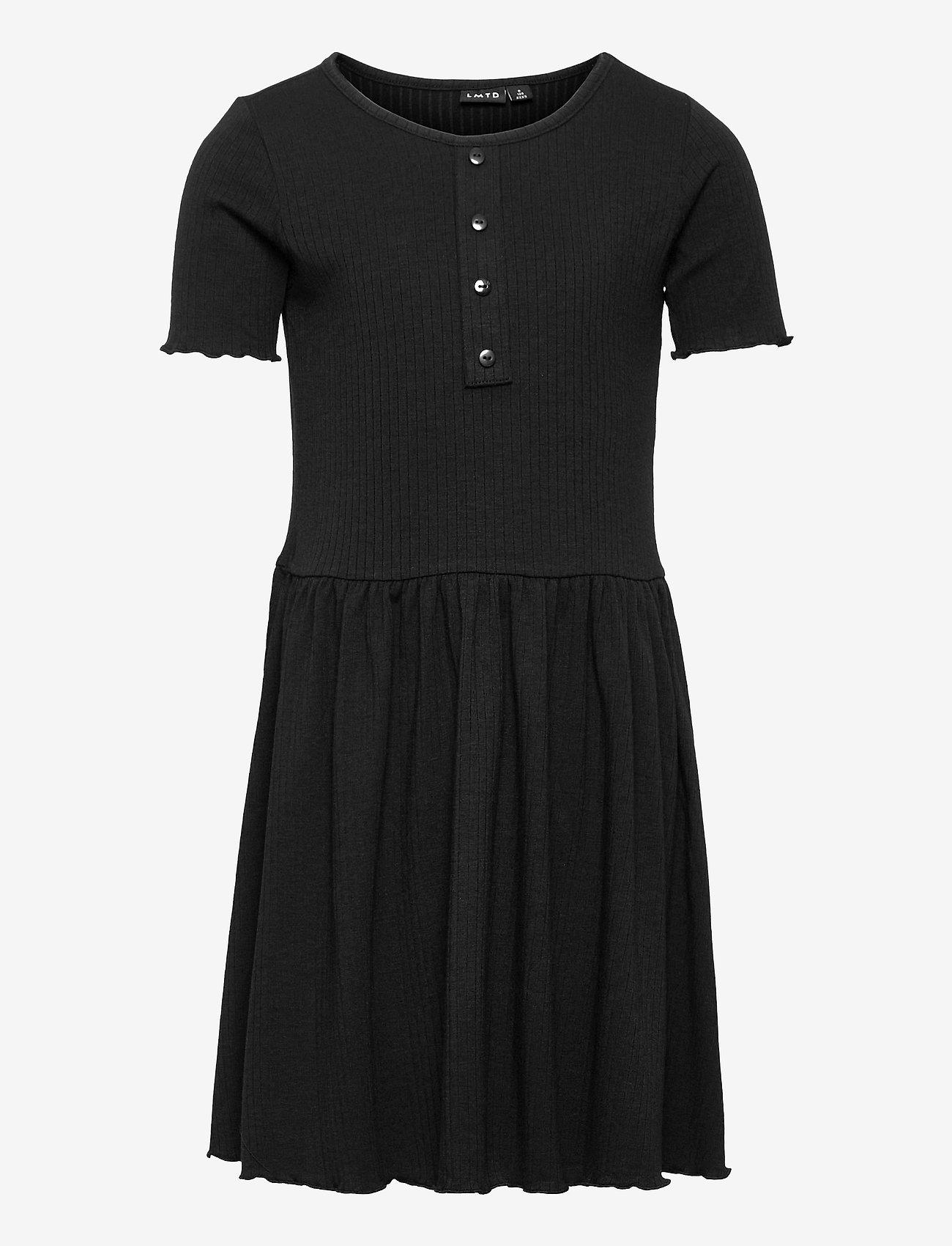 LMTD - NLFNUNNE SS DRESS - kleider - black - 0