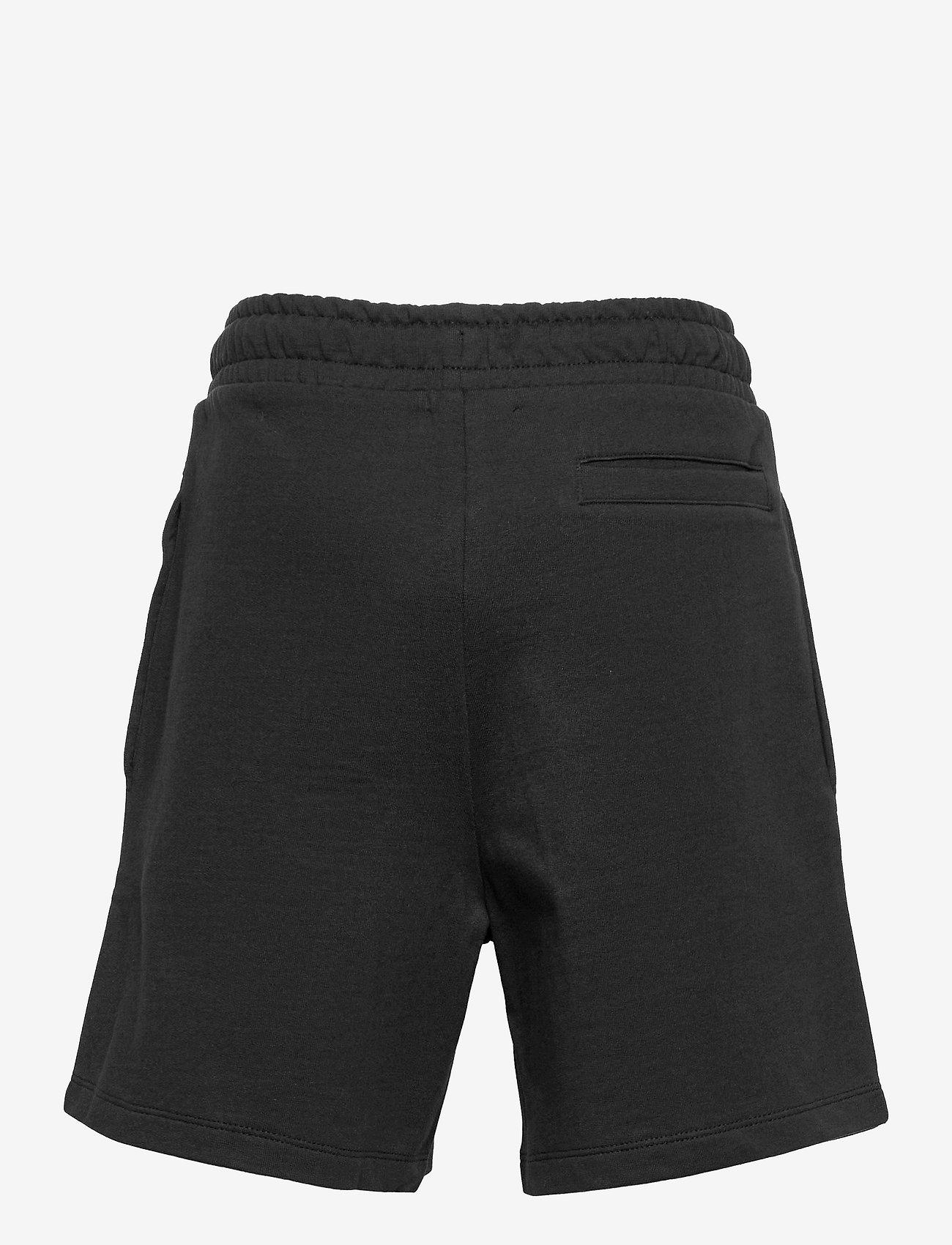 LMTD - NLMHERMO SWEAT SHORTS - shorts - black - 1