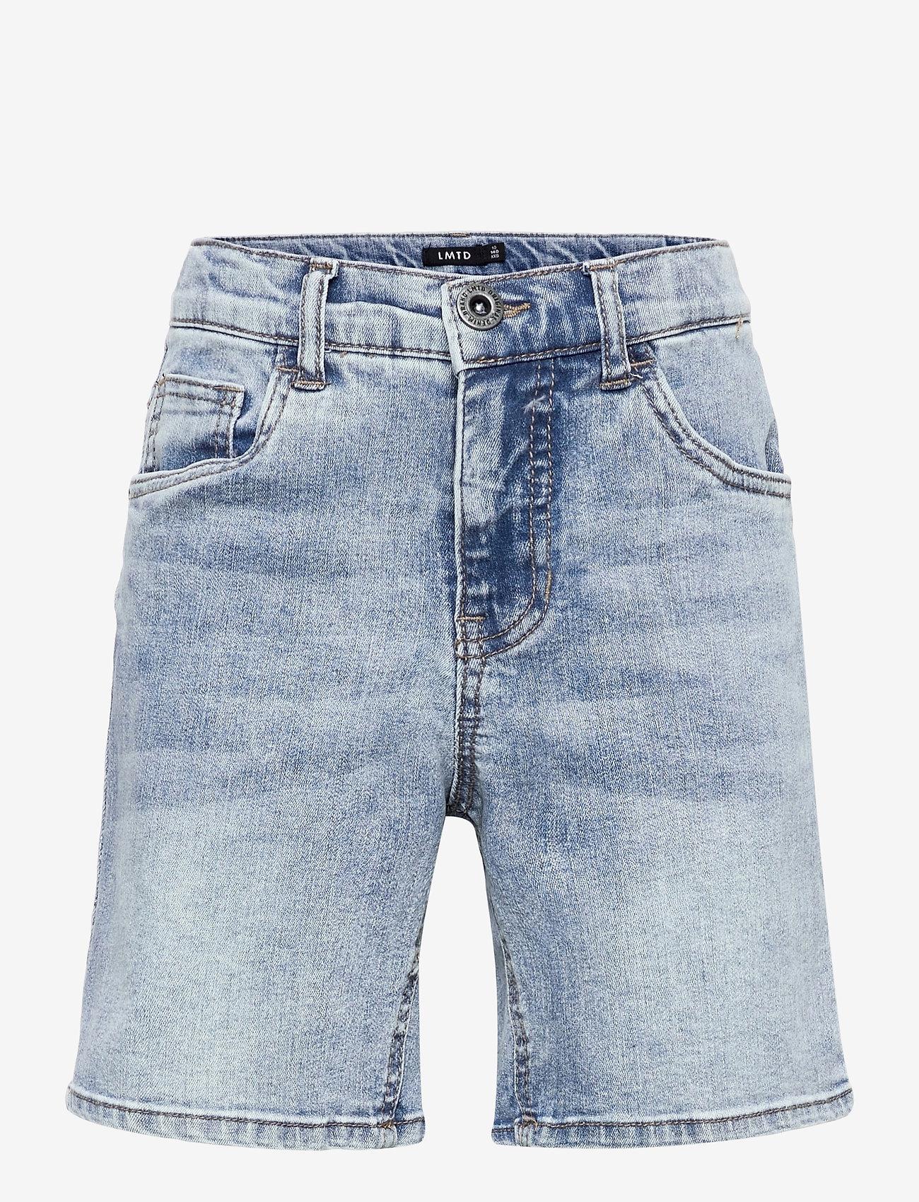LMTD - NLMRICO DNMABLINK SHORTS - shorts - light blue denim - 0