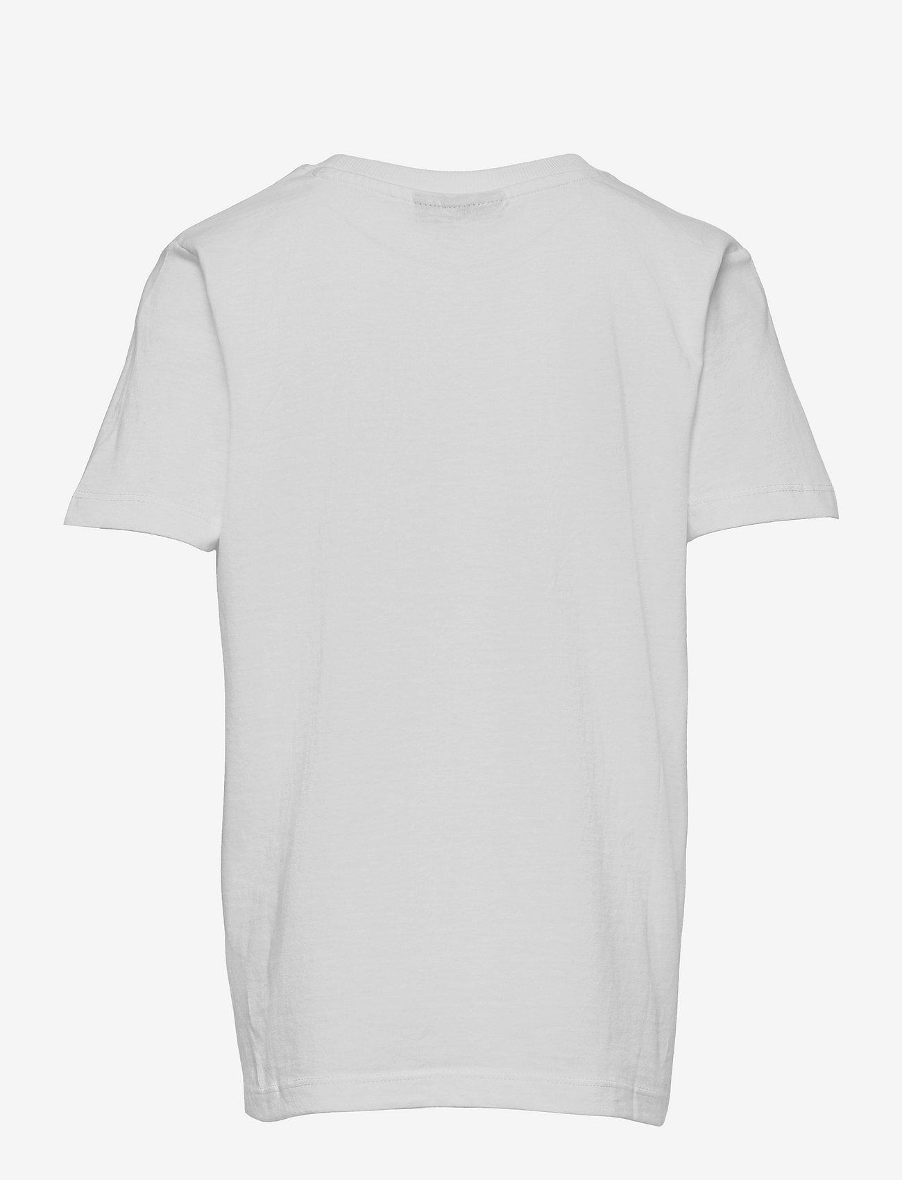 LMTD - NLMKASKET SS R TOP BOX - t-shirts - snow white - 1