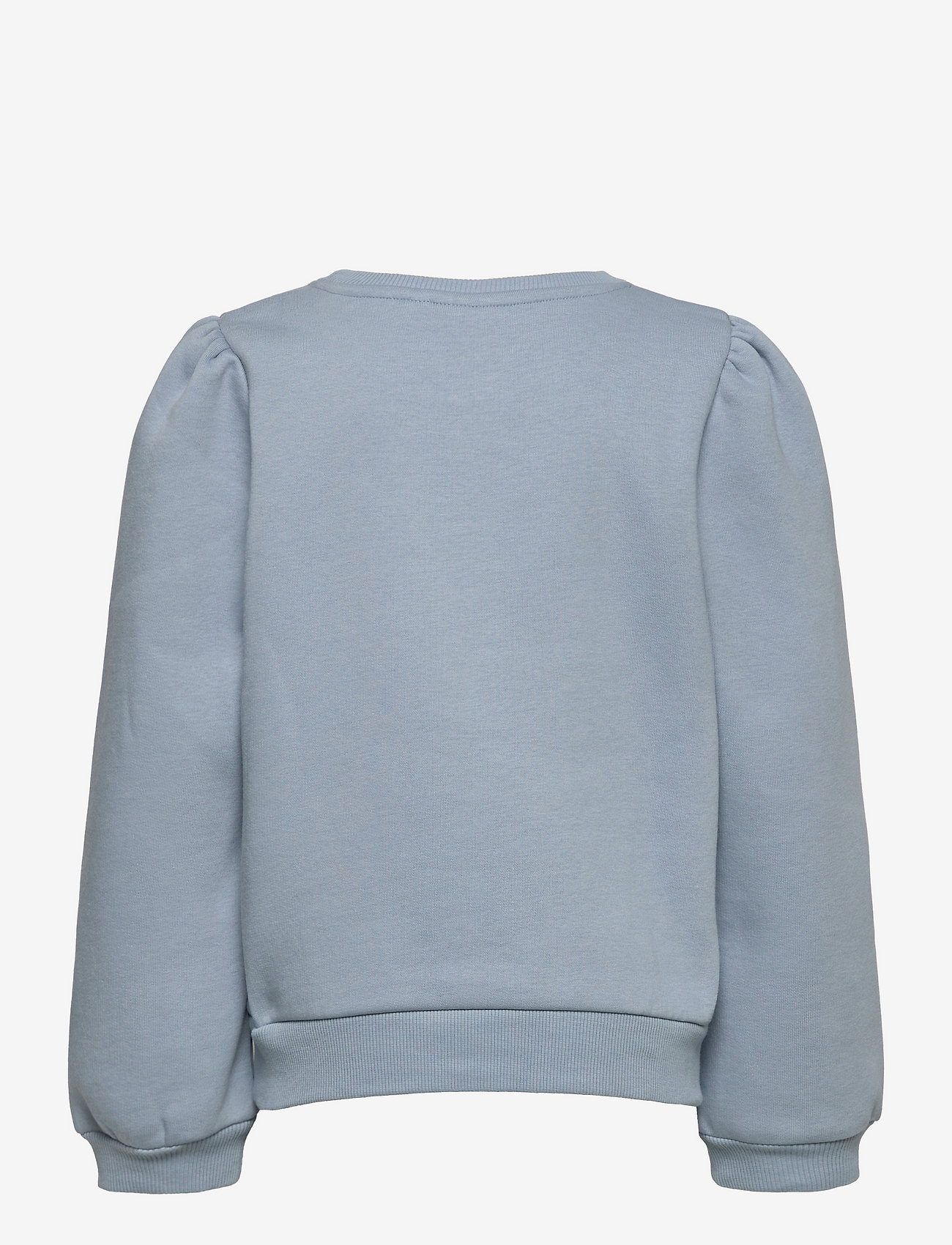 LMTD - NLFOPAL LS SHORT PUFF SWEAT - sweatshirts - dusty blue - 1
