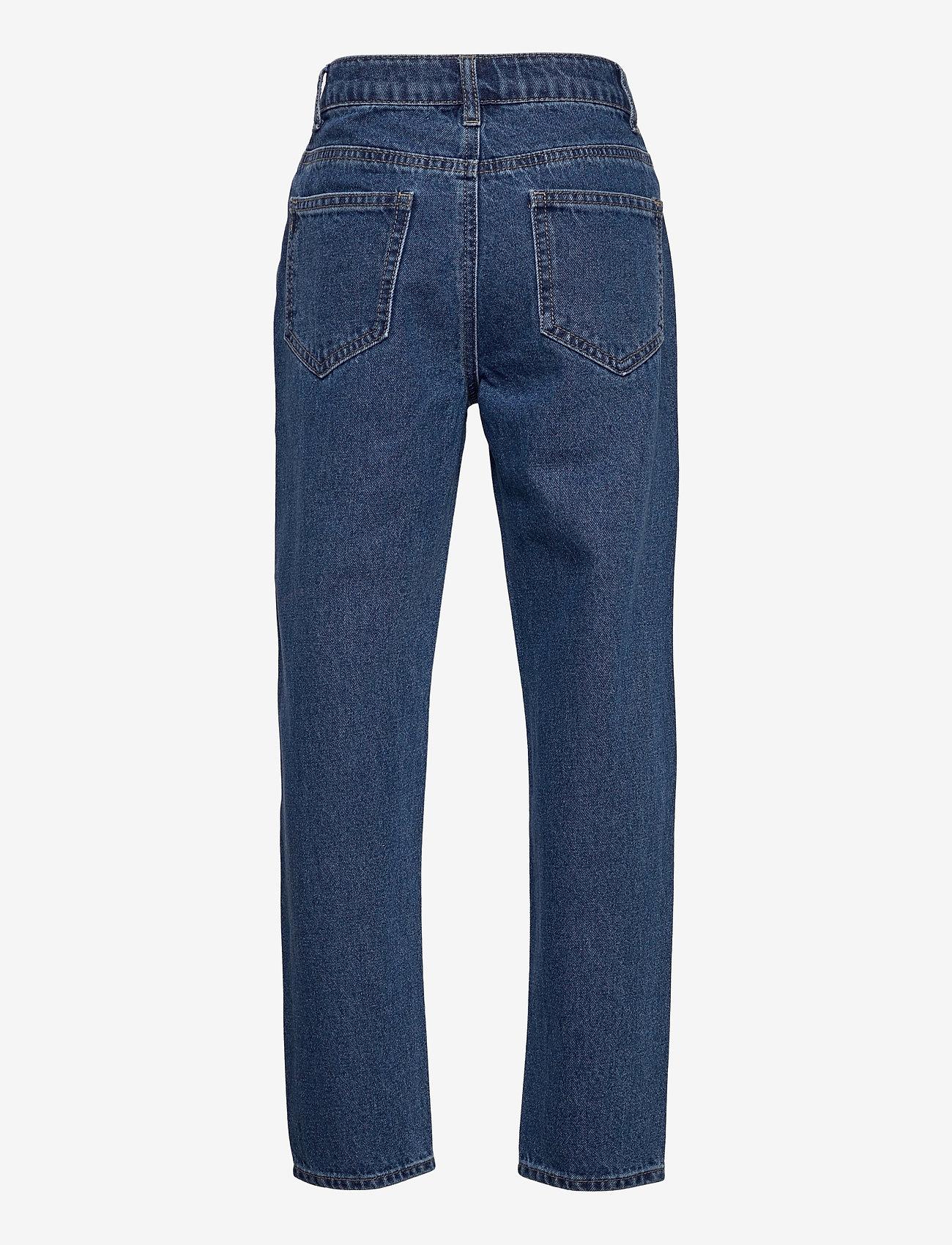 LMTD - NLFRAVEN DNMIZZA HW ANKLE PANT - jeans - medium blue denim - 1