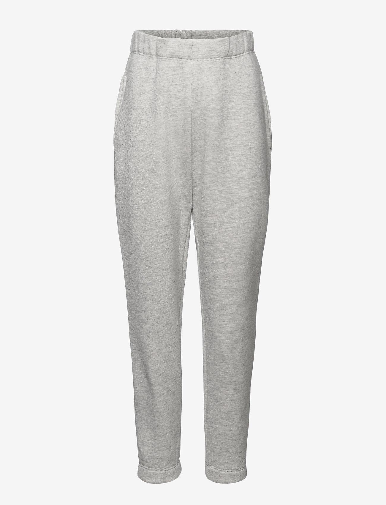 LMTD - NLFOPAL R SWEAT PANT NOOS - jogginghosen - grey melange - 0
