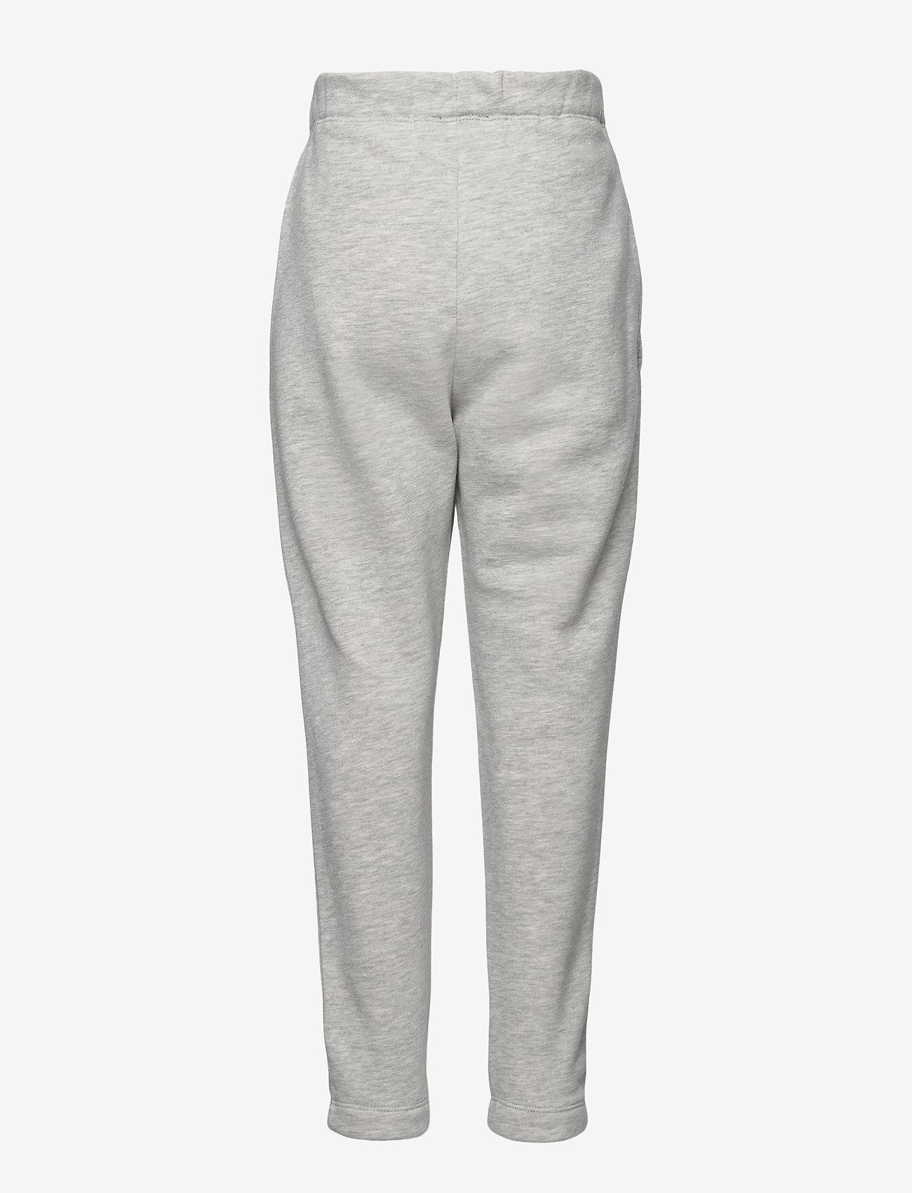 LMTD - NLFOPAL R SWEAT PANT NOOS - jogginghosen - grey melange - 1