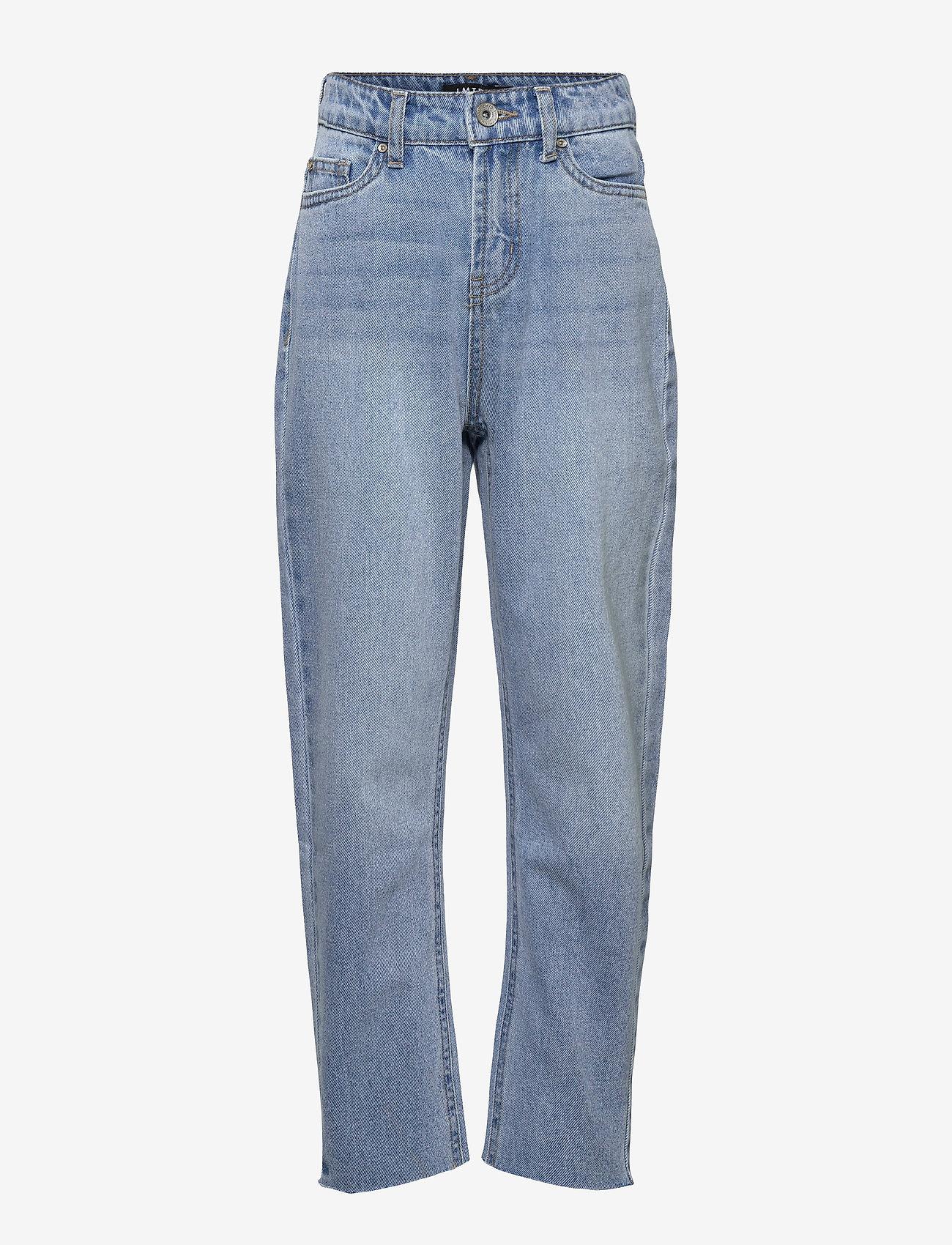 LMTD - NLFRAVEN DNMIZZA HW ANKLE  PANT L NOOS - jeans - light blue denim - 0