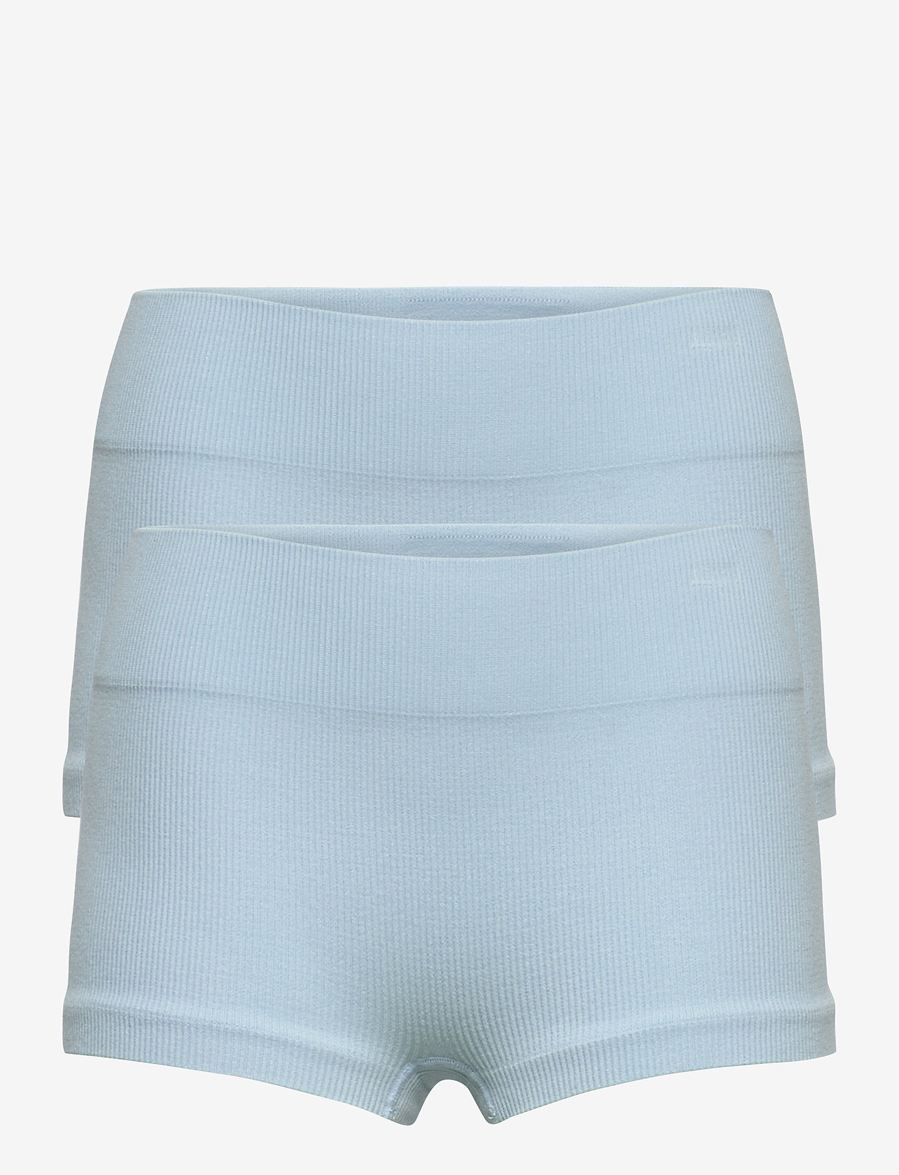 LMTD - NLFHAILEY RIB HIPSTER 2PACK - shorts - skyway - 0