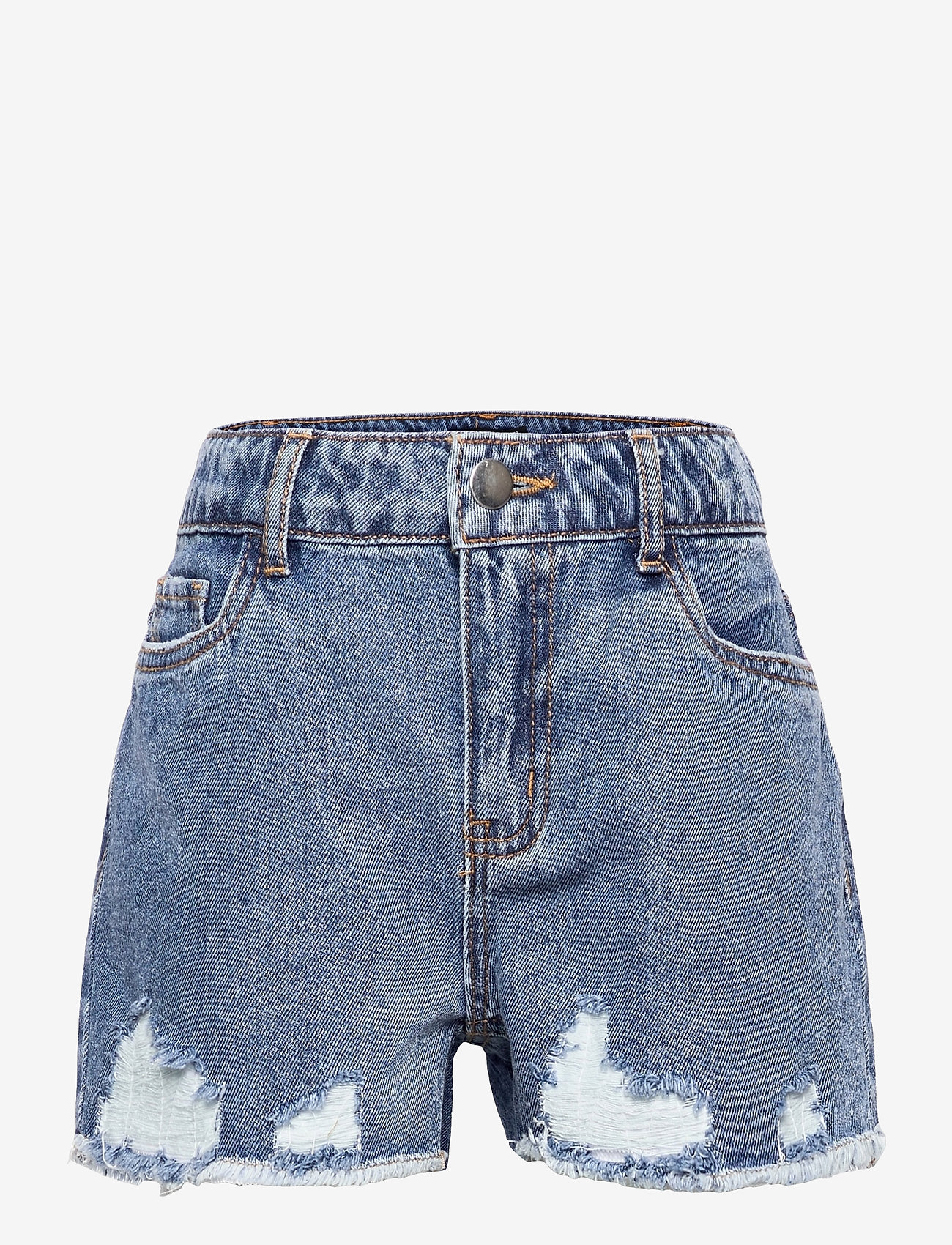 LMTD - NLFRAVEN DNMDIZZA SHORTS - shorts - light blue denim - 0