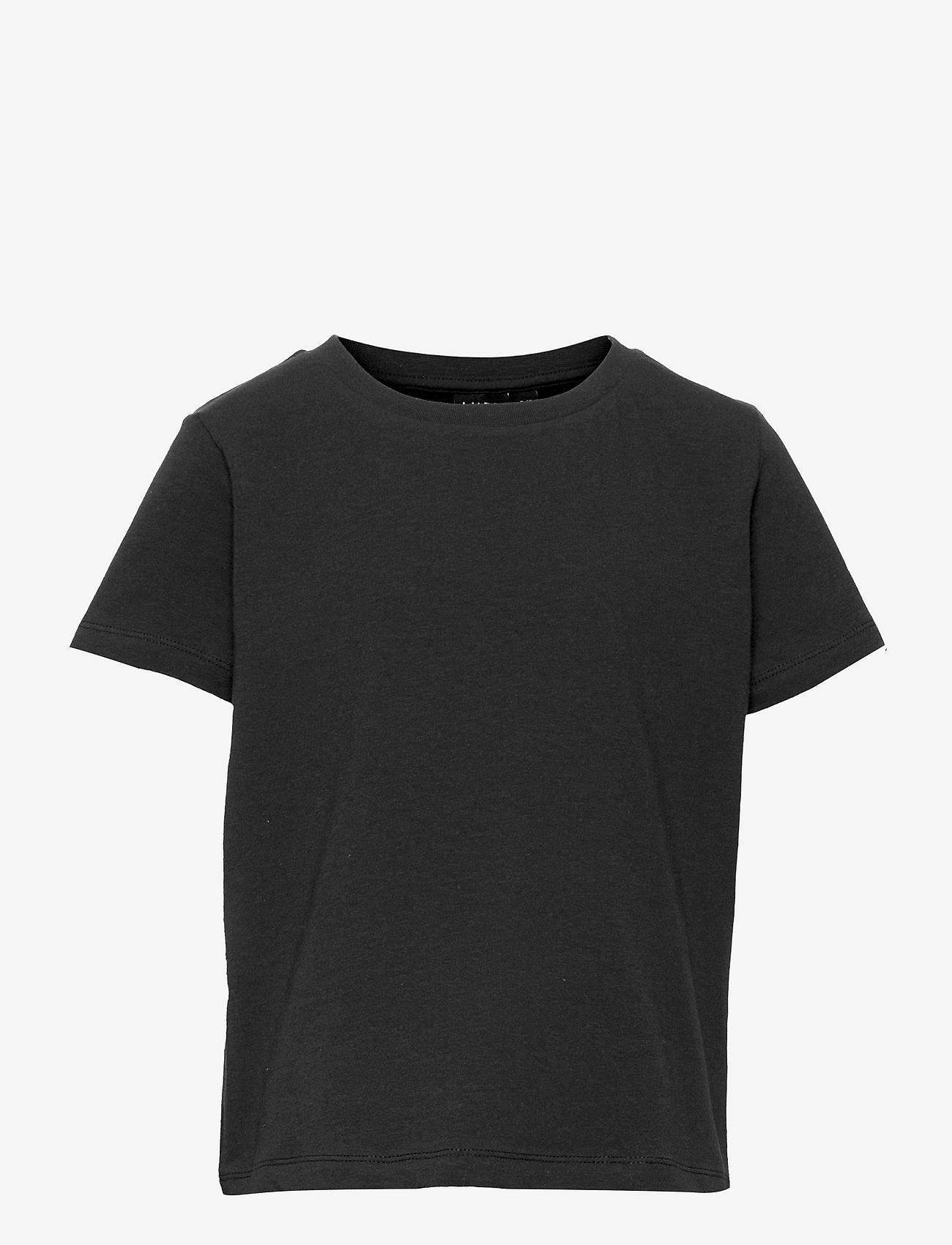 LMTD - NLFOPALLI SS S TOP - t-shirts - black - 0