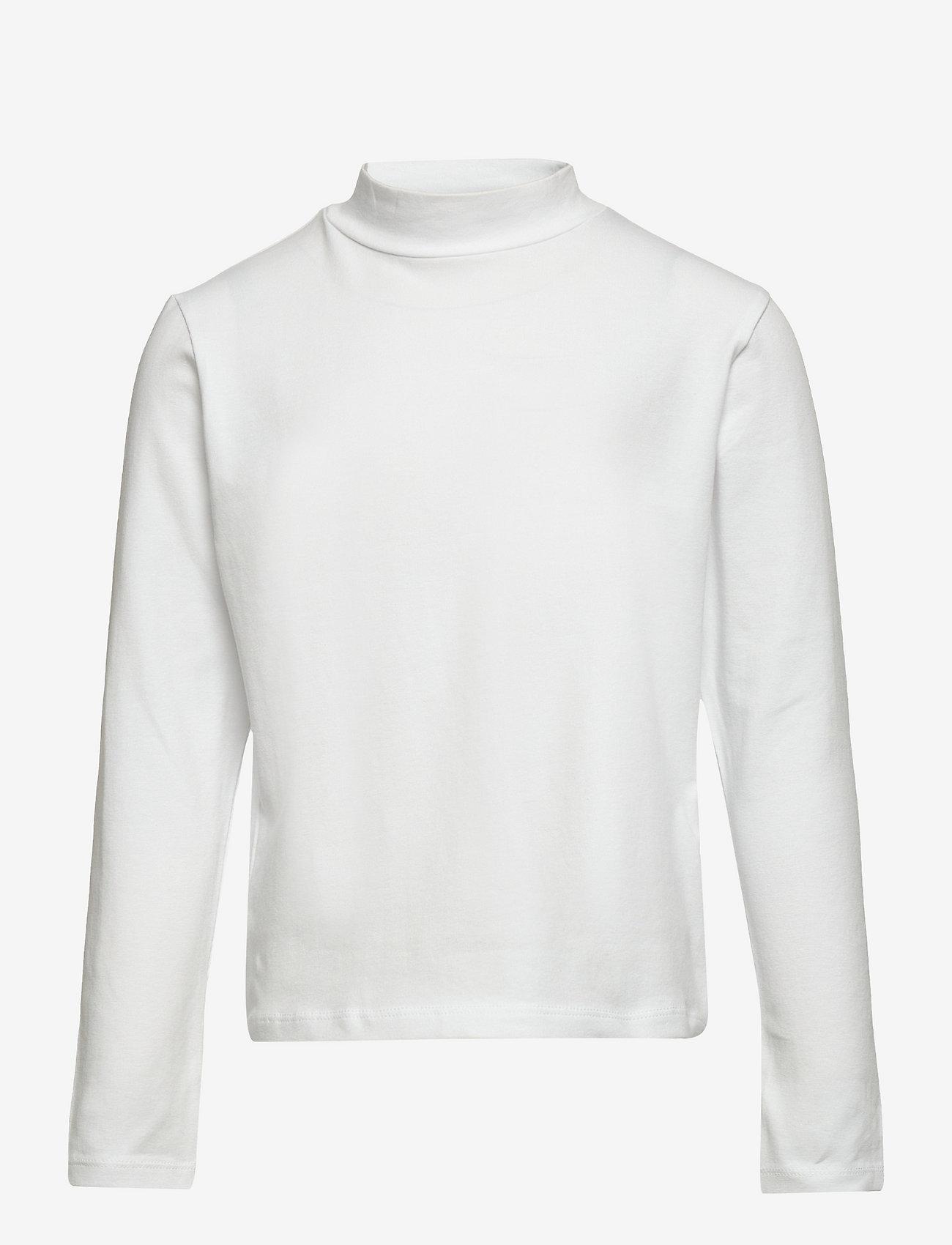 LMTD - NLFOPALLI LS S TURTLENECK TOP - pullover - bright white - 0