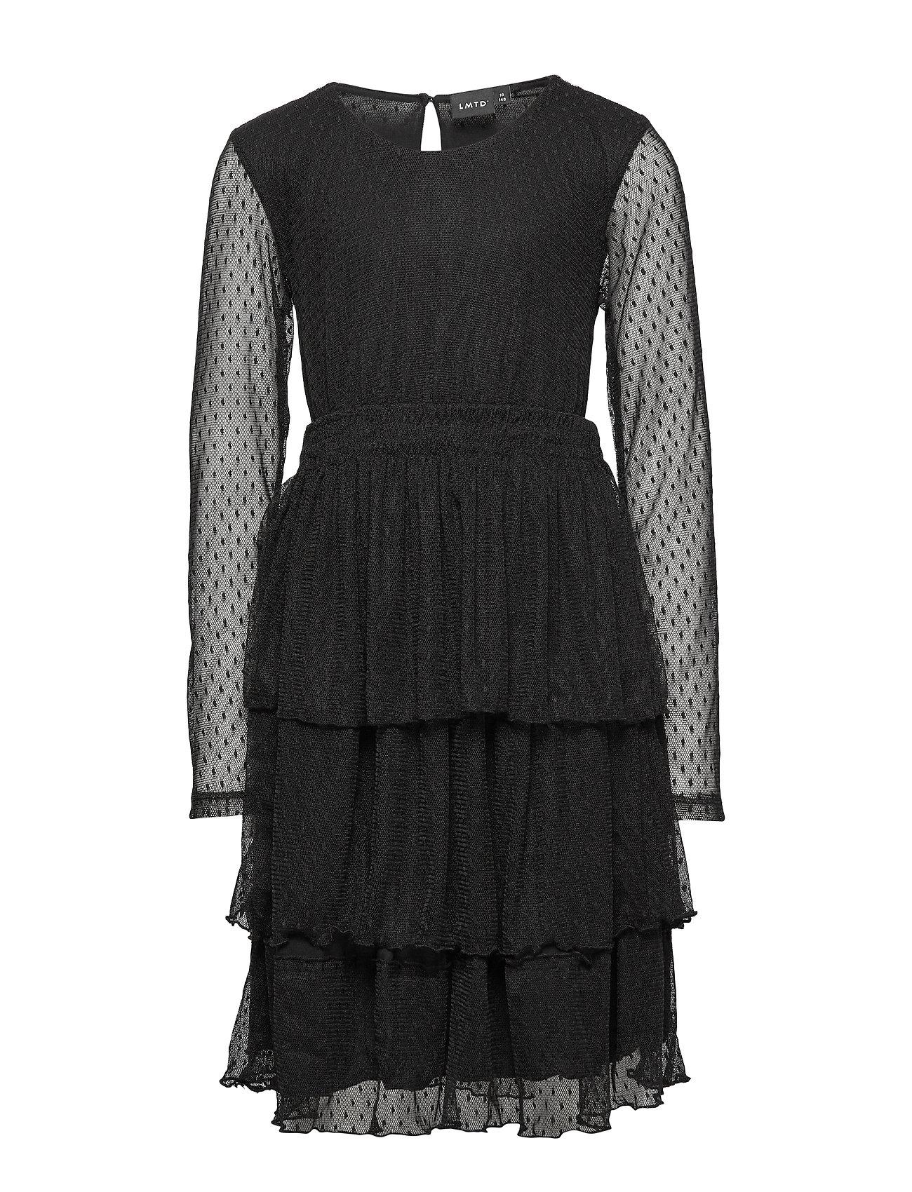 LMTD NLFSUE LS DRESS - BLACK