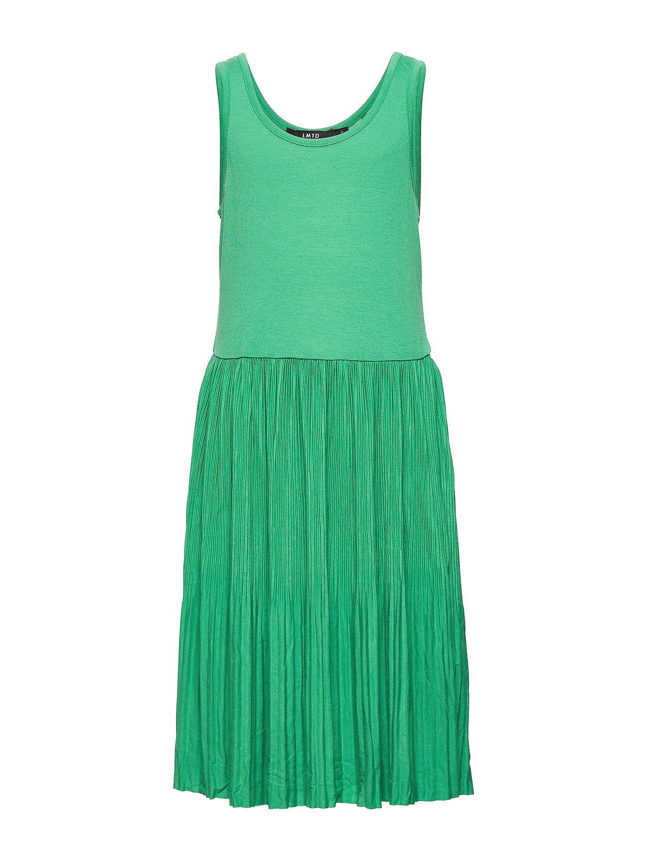 LMTD NLFFIRENZE SL PLEATED DRESS - LEPRECHAUN