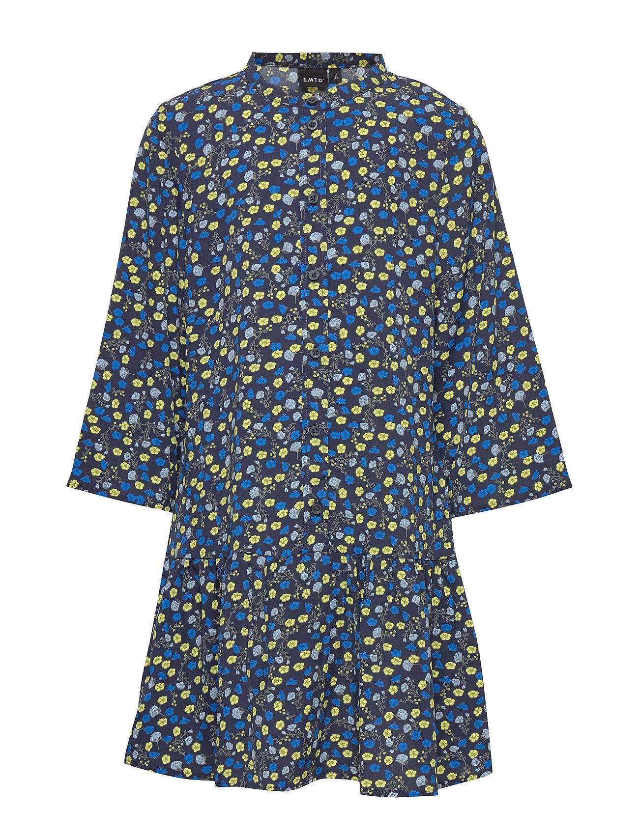 Image of Nlfbyna 3/4 Dress Kjole Blå LMTD (3333160273)