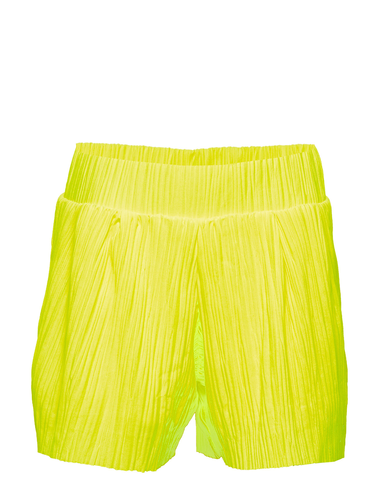 LMTD NLFDAHLIA LOOSE SHORTS W. LINING - SAFETY YELLOW