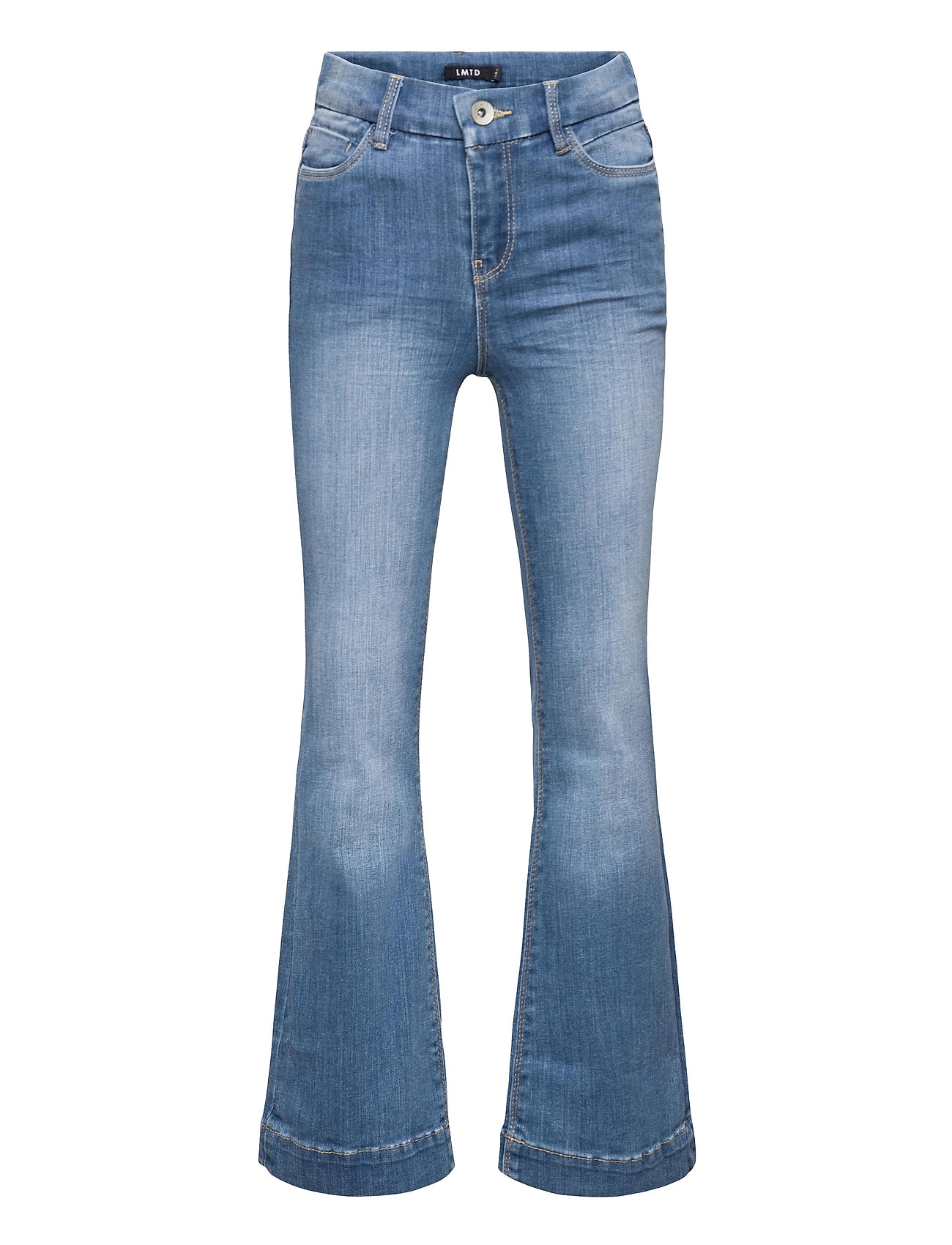 Image of Nlfpil Dnmatejas 2455 Hw Boot Pant Noos Jeans Boot Cut Blå LMTD (3490306609)