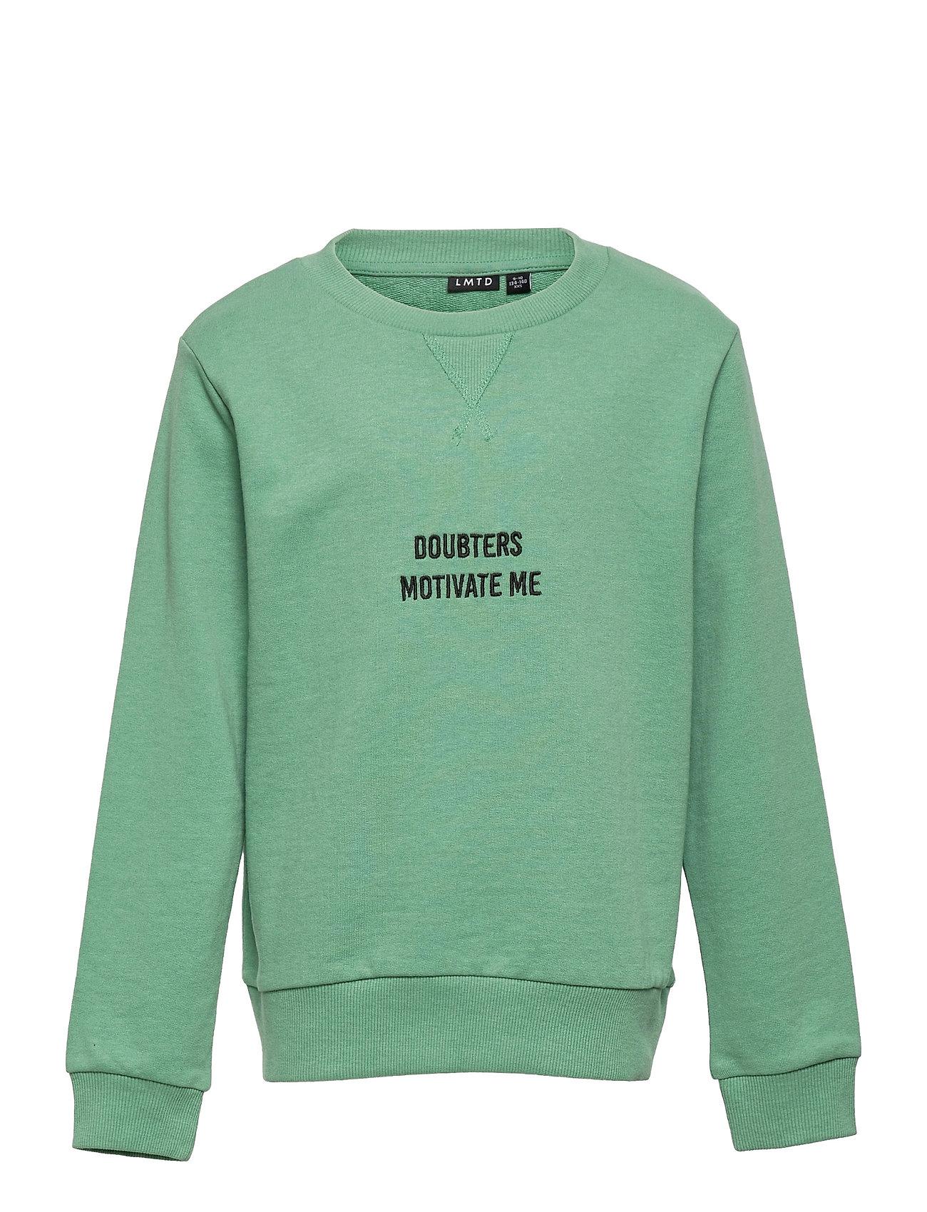 Nlmkasper Ls O-Neck Sweat Sweatshirt Trøje Grøn LMTD