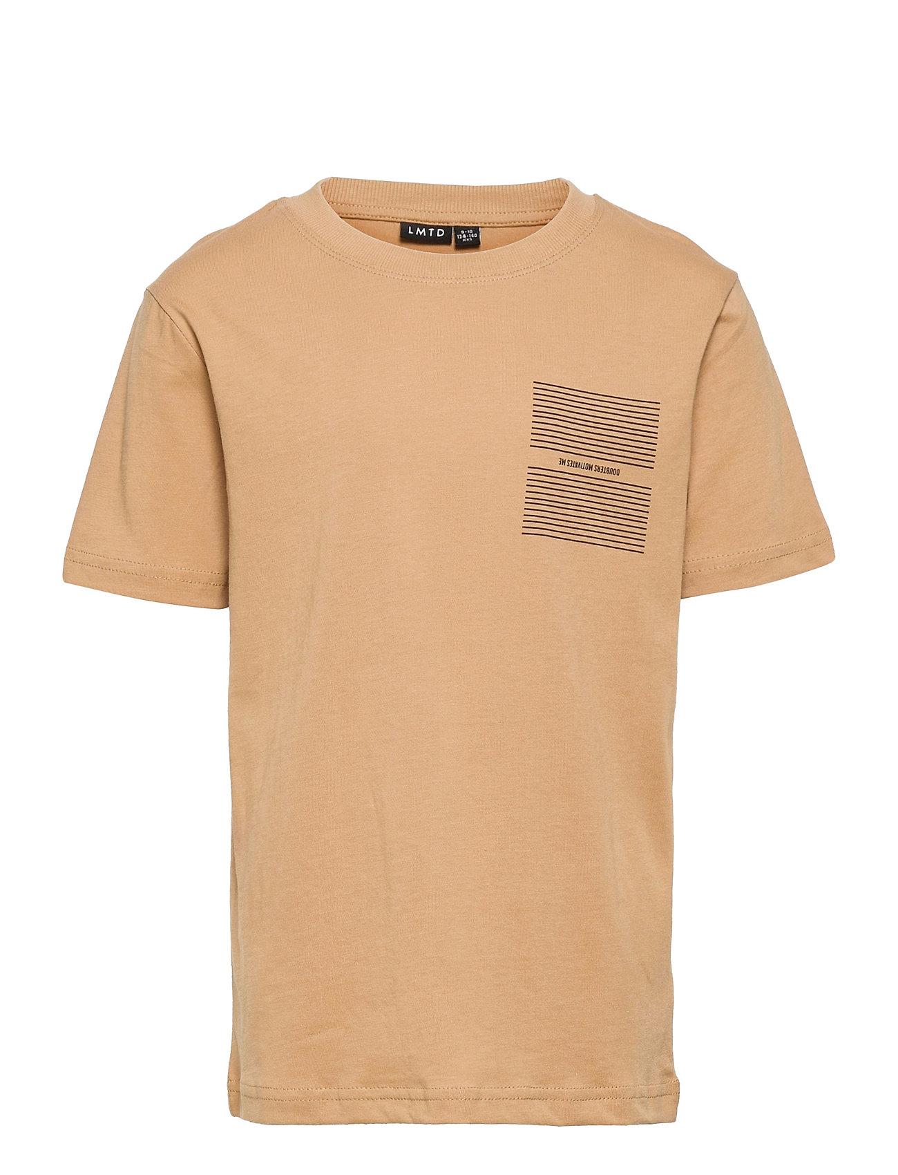Nlmleonard Ss R Top Box T-shirt Beige LMTD