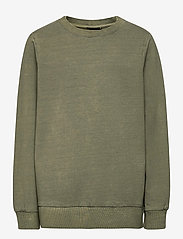 LMTD - NLMBUSTERS LS  SWEAT - sweatshirts - deep lichen green - 0