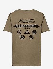 LMTD - NLMTERKEL SS R TOP - t-shirts - deep lichen green - 1