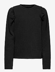 LMTD - NLFTINKER LS SWEAT - sweatshirts - black - 0