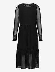 NLFRESH LS DRESS - BLACK