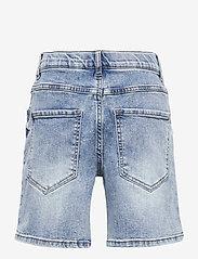 LMTD - NLMRICO DNMABLINK SHORTS - shorts - light blue denim - 1
