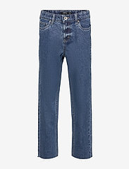 LMTD - NLFRAVEN DNMIZZA HW ANKLE  PANT - jeans - medium blue denim - 0