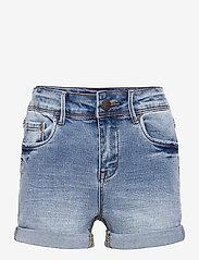 LMTD - NLFRAVEN DNMBATECE 1260 HW SHORTS NOOS - shorts - light blue denim - 0