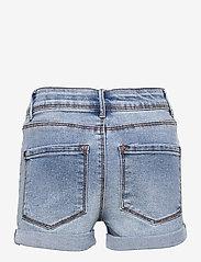 LMTD - NLFRAVEN DNMBATECE 1260 HW SHORTS NOOS - shorts - light blue denim - 1