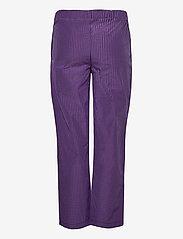 LMTD - NLFSINETTE REG CHECK PANT - hosen - purple reign - 1