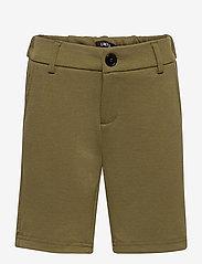 LMTD - NLMHIPS SLIM SHORTS - shorts - ivy green - 0