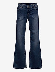 LMTD - NLFBASTELLA DNM 2291 WIDE PANT - jeans - medium blue denim - 0