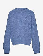 LMTD - NLFLULJA LS SHORT KNIT - pullover - dutch blue - 0