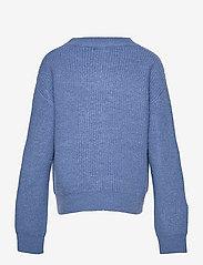 LMTD - NLFLULJA LS SHORT KNIT - pullover - dutch blue - 1