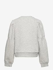 LMTD - NLFOPALELLA LS  SHORT SWEAT - sweatshirts - light grey melange - 1