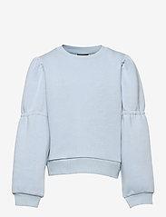 LMTD - NLFOPALELLA LS  SHORT SWEAT - sweatshirts - skyway - 0