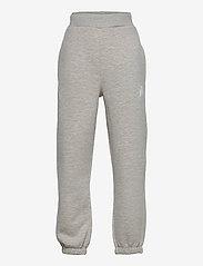 LMTD - NLMLEONS SWEAT PANT - jogginghosen - grey melange - 0