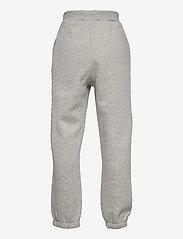 LMTD - NLMLEONS SWEAT PANT - jogginghosen - grey melange - 1