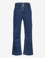LMTD - NLFTASPER DNM WIDE PANT - jeans - medium blue denim - 0