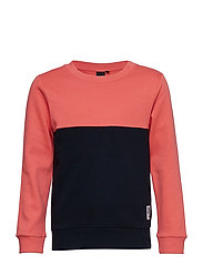 NLMDALE LS SWEAT - SPICED CORAL