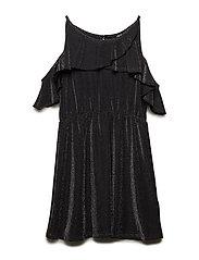 NLFROSE STRAP DRESS - BLACK