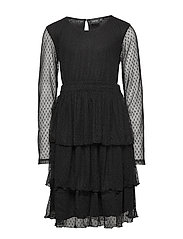 NLFSUE LS DRESS - BLACK
